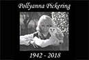 Naturewatch Patron - Pollyanna Pickering has sadly passed away