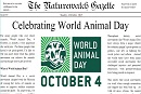 World Animal Day Makes Animal Issues Front Page News Around The Globe!